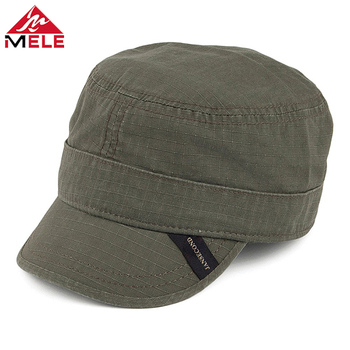 Custom Meidiney Short Bill Military Style Brand Tab Embroidery Cadet Cap  Military Hats - Buy Military Hats,Short Bill Cadet Cap,Cadet Cap Product on