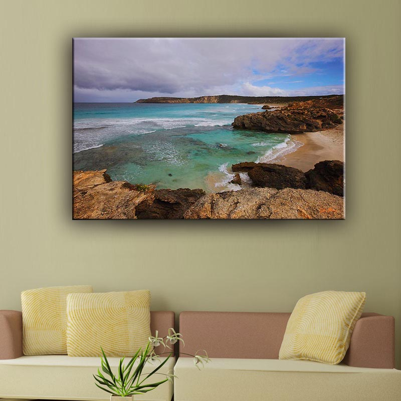 Upscale hotel wall decorative picture sea scenery outdoor canvas painting