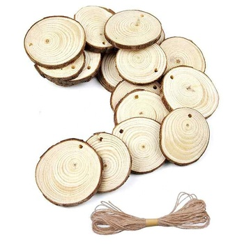 Diy Wood Craft Natural Wood Slices For Christmas Wedding Ornament Buy Craft Wood Craft Wood Slices Product On Alibaba Com