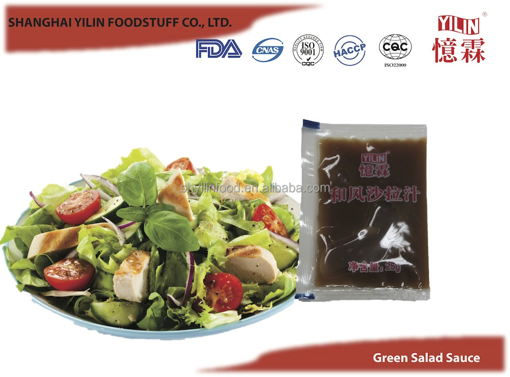 25g Special Made Green Salad Dressing Sauce from China