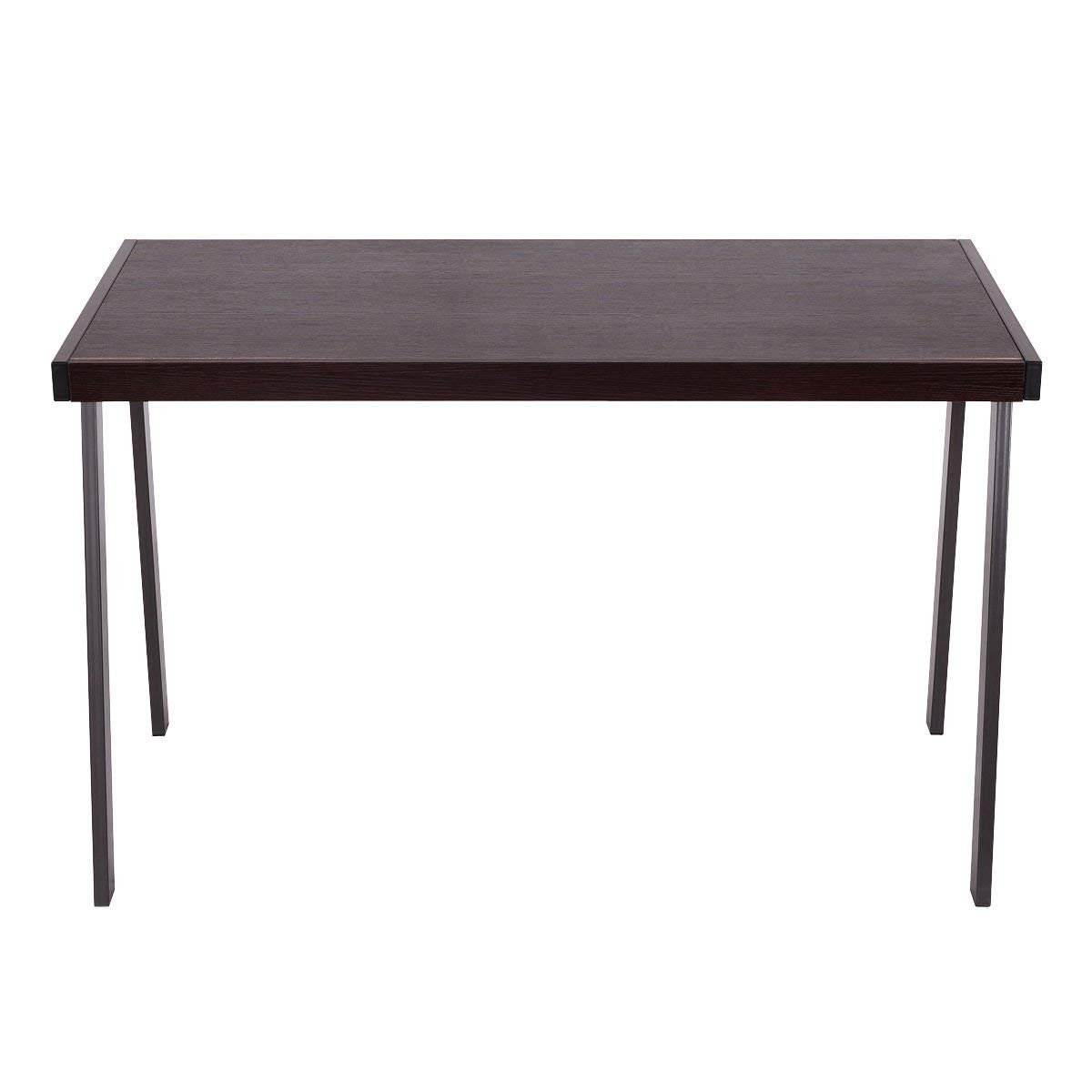 """GHP 47.2""""x23.2""""x30.1"""" Particleboard & Powder-Coated Steel Computer Desk Workstation"""