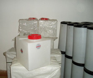 Industrial plastic chemical dosing water tank 50 100 liter price