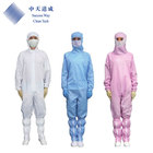 Protective Ansti Static Esd Cleaning Uniform Cleanroom Suit Safety Clothing