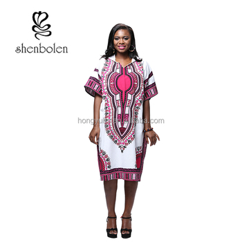 African women selling clothes batik printed fabric hooded design dress