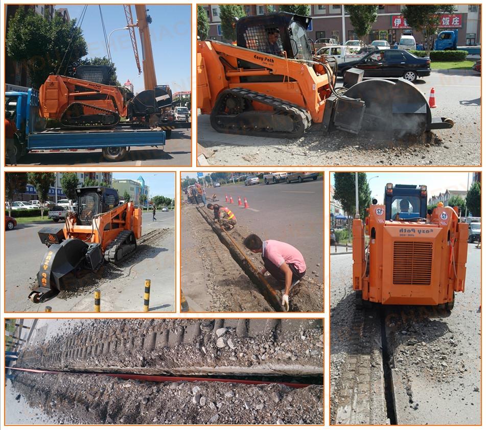 cable burying machine rental