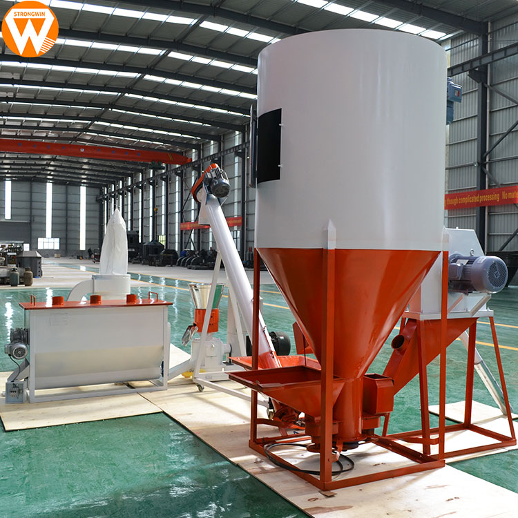 Strongwin Feed Plant 500kg/h Poultry Chicken Broiler Animal Feed Pellet  Making Machine Price - Buy Feed Pellet Making Machine,Poultry Feed Making