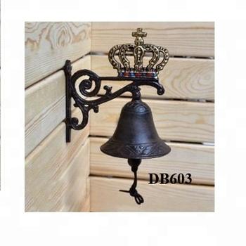 Crown Cast Iron Door Bell