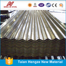 sound proof heat proof 18 gauge corrugated steel roofing sheet