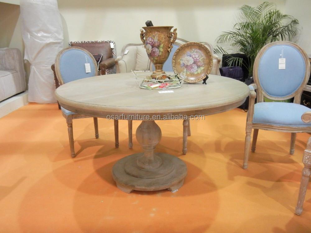 Tavolo Da Pranzo In Francese : Louis francese mobili in legno massiccio rotondo ristorante tavolo