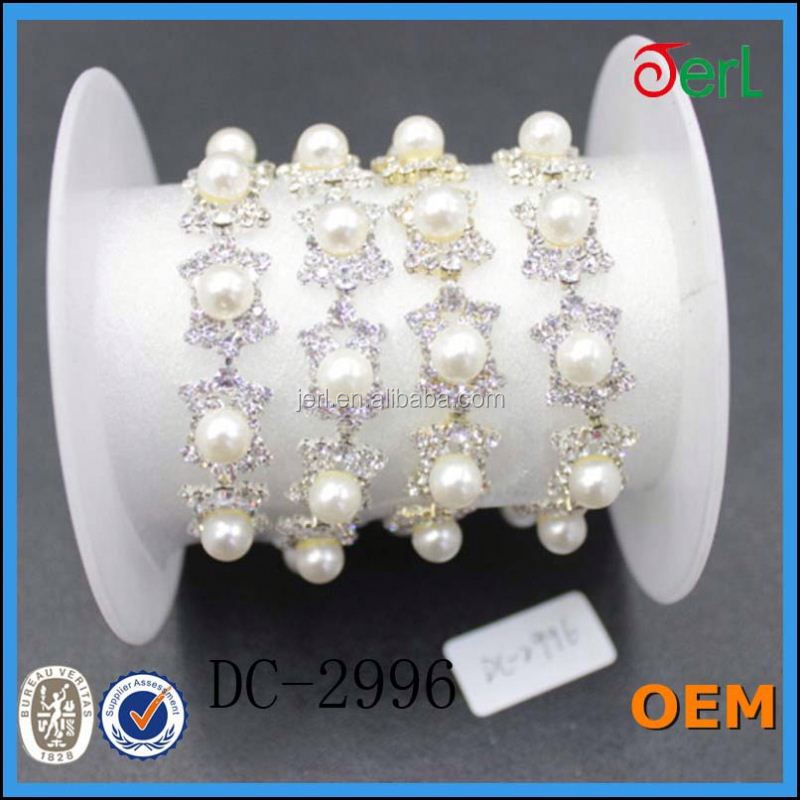 china supplier handmade pearl chain model