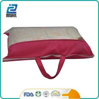 Alibaba china supplier clear vacuum bags for pillow packing pvc bag