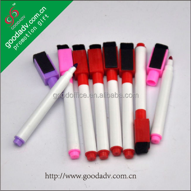 Can printing your own logo erasable ink white board marker