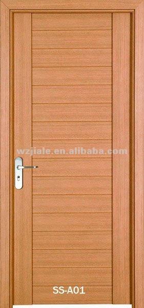 populaire bois porte de la salle de modle pour intrieur usage portes en - Modele Porte Chambre