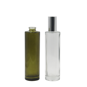 tall and thin 100ml glass perfume oil spray bottle