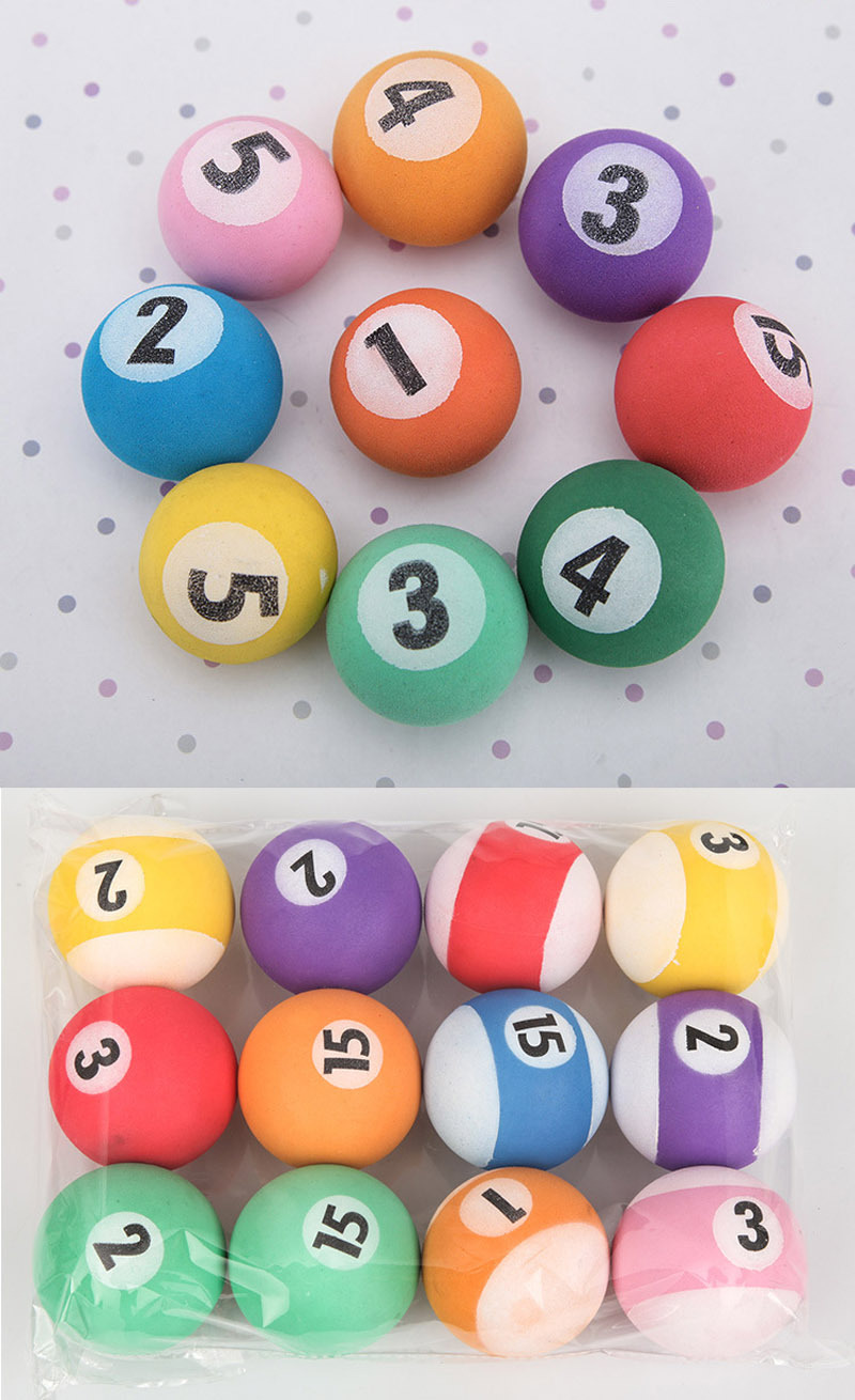 Eva Billiard Ball For Children Welcome Custom Billiard Balls ...