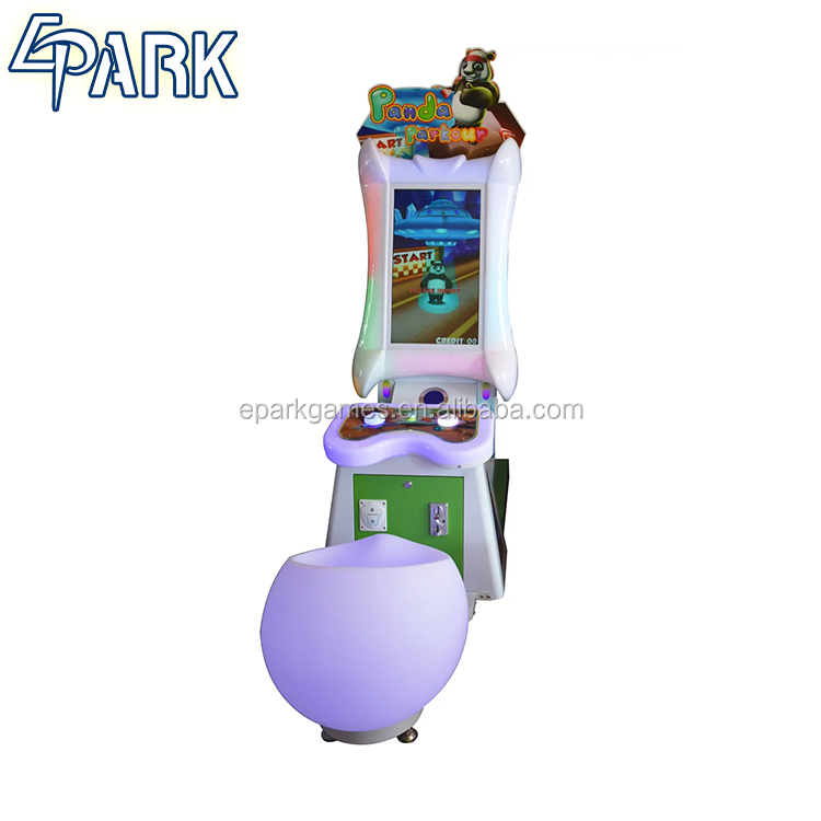 Coin operated subway parkour cool children's play equipment video game