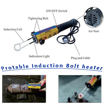 induction heater for rusted bolt and nut/induction heating tool ...