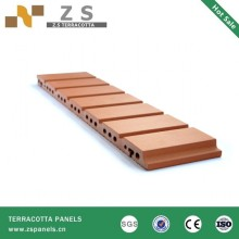 Wall Terracotta Panel ISO9001 , CE ,KOREA,JAPAN,EU,USA, RU 300X600(300-1200)