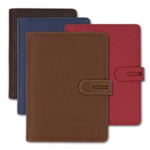 Faux Leather Cover Office Business looseleaf Notebooks security officers notebook