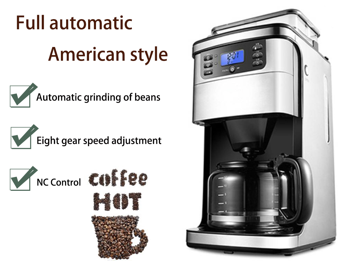 2018 Hot Portable Commercial Coffee Maker Automatic Drip Battery Operated Espresso