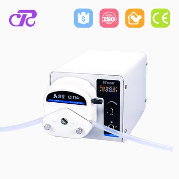 High performance liquid chromatography peristaltic pump
