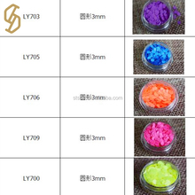 Hologram sequins decorations brilliant powder polyester glitter