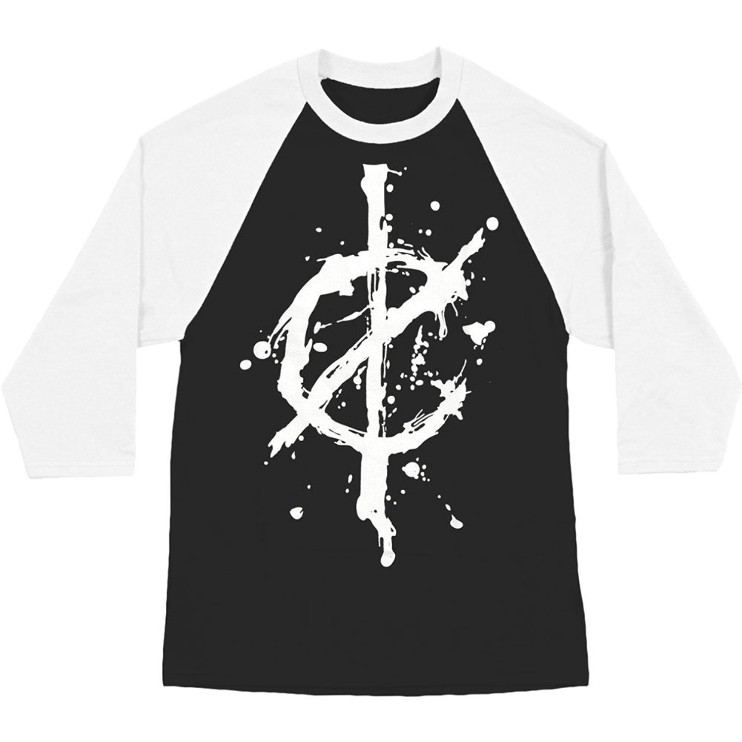 Get Quotations · We Came As Romans Men s Hope Baseball Jersey Black 2c437a7e2