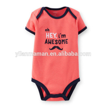 Hot selling colorful baby bodysuits cotton baby bodysuit baby creepers
