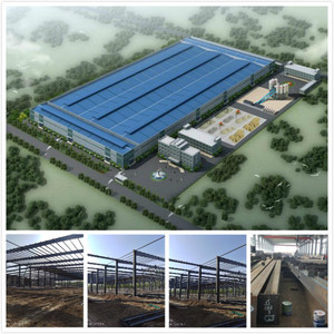 ZHAOHONG/Hangar/workshop steel structure for car parking / Pre-fabricated Steel Frame Warehouse