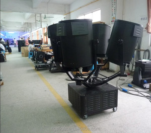 guangzhou hot selling Four Heads Searchlight