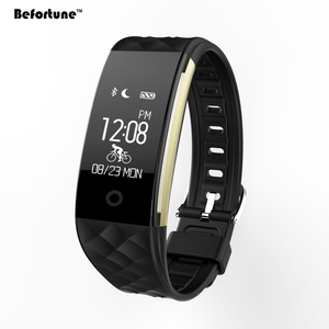 S2 Smart Bracelet Bluetooth 4.0 IP67 Waterproof Heart Rate Monitor Pedometer Sleep Monitor Smartband Bracelet