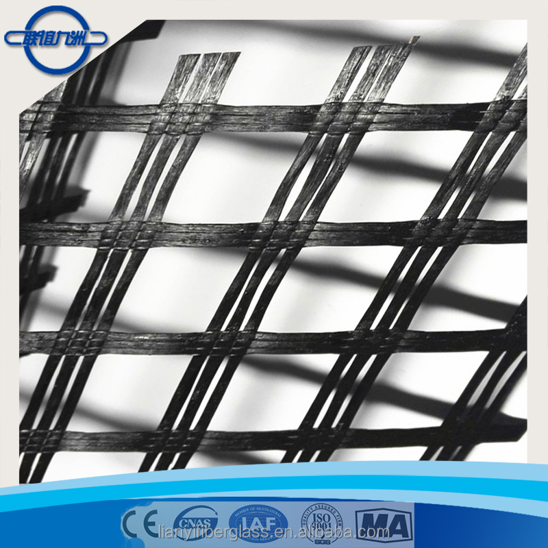 Warp-knitting Polyester Geogrid For Soil Reinforcement