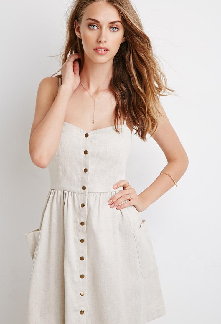 Sweetheart Neckline Casual Dress