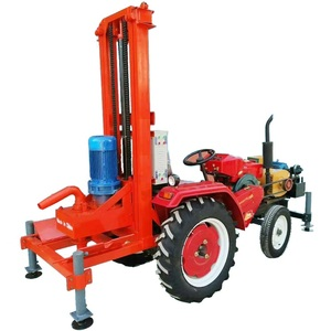 Rock Used Water Well Drilling Stem Pipe Tractors Drill Machine