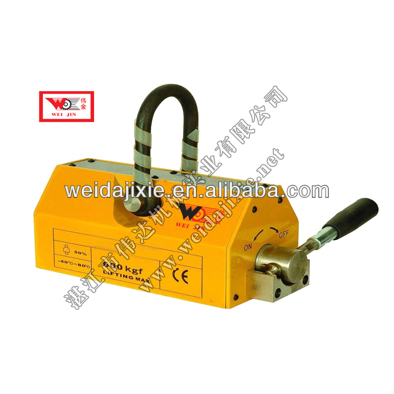 Permanent Magnetic Lifter for Lifting Steel Plate