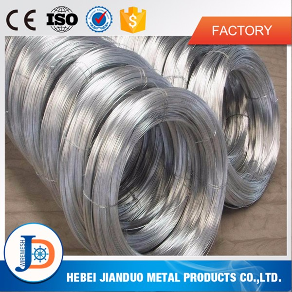Direct factory selling galvanized wire / gi binding wire / hot dip electro galvanized iron wire