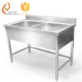 stainless steel double bowl kitchen sink without faucet for hotel rh alibaba com stainless steel double kitchen sink with drainboard stainless steel double bowl undermount kitchen sinks
