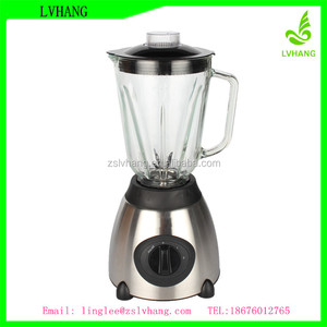 factory 1.5L glass jar 500W ice blender machine