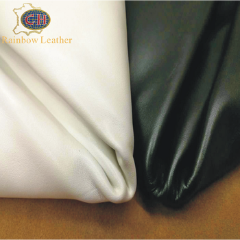 China Supplier High Quality 100% Full Grain Nappa Soft Cow Hide Finished Leather for Shoes