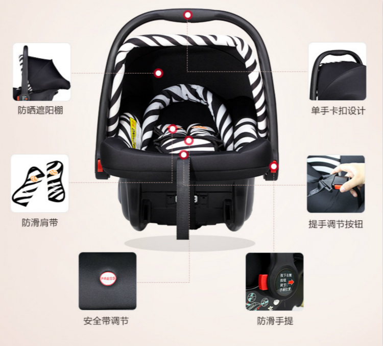 cd4c71b5cf5 Infant Safty Seat Baby Carry Basket Baby Carrier Wholesale - Buy ...