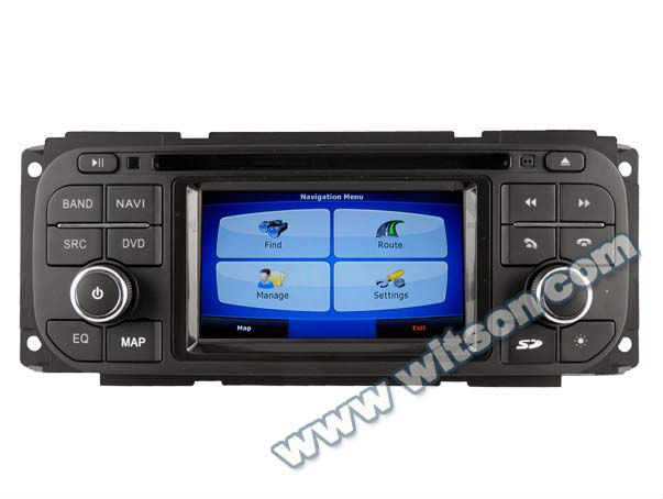 WITSON 2 din car dvd CHRYSLER Jeep Liberty A8 CHIPSET with built-in Bluetooth