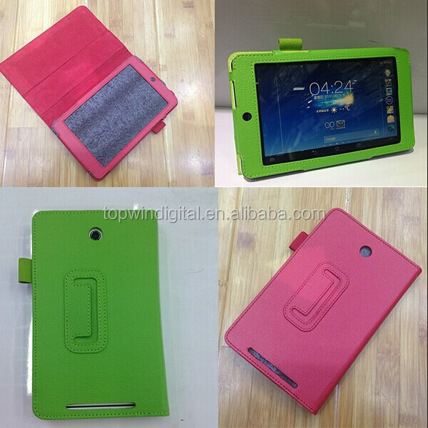 Factory Direct Stand Leather Flip Cover Case For ASUS Memo Pad HD 7 Me173X With Holder