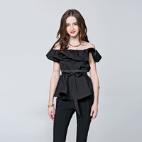 Buy 2016 New design sleeveless off shoulder in China on Alibaba.com