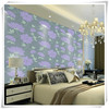 Professional wholesale big flower decoration hot sale nature wallpaper for hotel