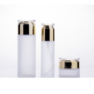 Luxury Men 40Ml 80Ml 100Ml 120Ml Lotion Toner Pump Cosmetic Hdpe Bottle For Set