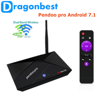 Professional Pendoo Pro RK3328 2g 16g Pendoo Pro tv box RK3328 Manufacturer Android 7.1 Set Top Box