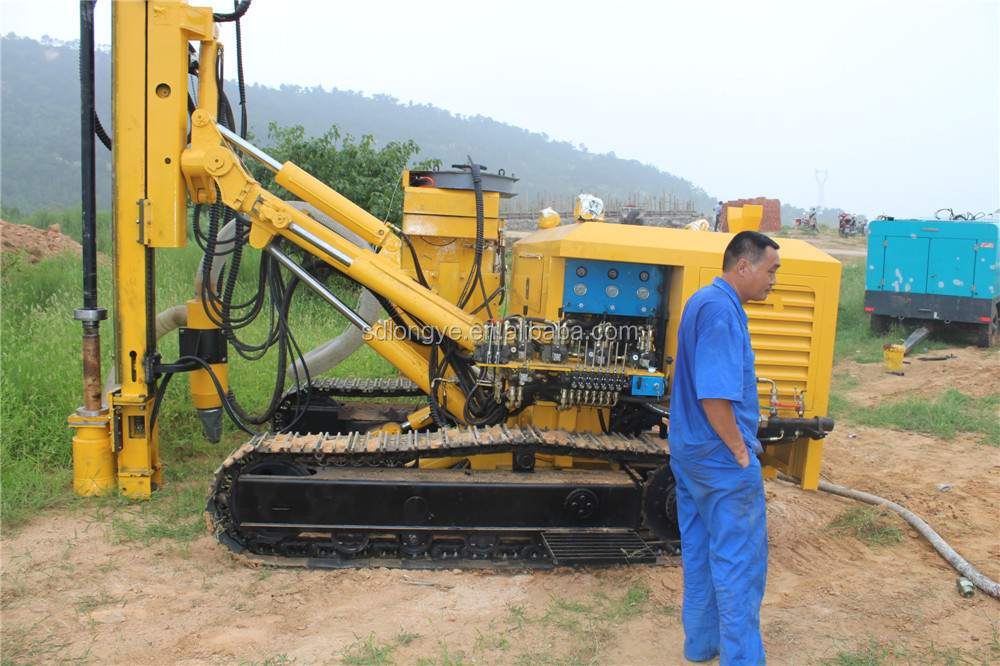 New Condition Crawler DTH Drilling Rig G150YF For Coal Mine Blasting drilling