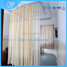 LY-3 100% Polyester Beige LY Hospital Curtain/Hospital Mesh Curtain Fabric