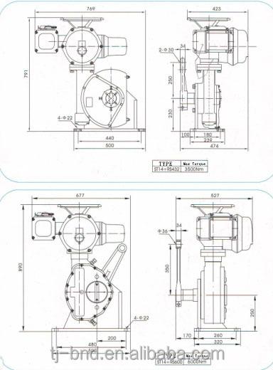 bernard actuator for electric control valve st rs modulating damper actuator