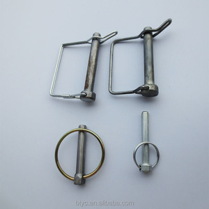 Spring Loaded Clips Round Metal Clamp Formed Wire